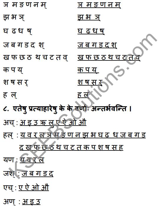 1st PUC Sanskrit Workbook Answers Karnataka 7