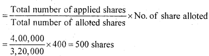 2nd PUC Accountancy Question Bank Chapter 1 Accounting for Share Capital - 78