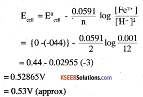 2nd PUC Chemistry Question Bank Chapter 3 Electrochemistry - 3