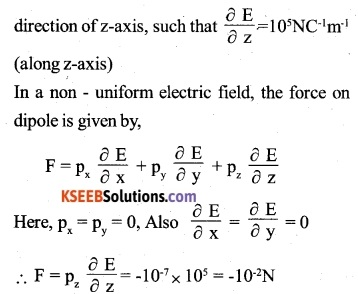 2nd PUC Physics Question Bank Chapter 1 Electric Charges and Fields 34