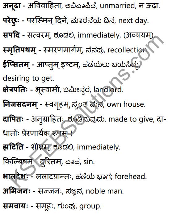 सा शान्तिः Summary in Kannada and English 35