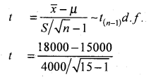 2nd PUC Statistics Model Question Paper 3 with Answers - 27