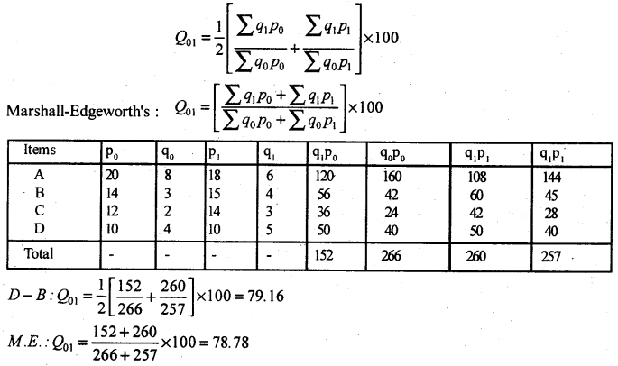 2nd PUC Statistics Model Question Paper 3 with Answers - 41