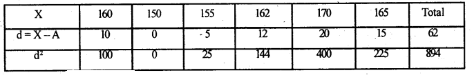 2nd PUC Statistics Model Question Paper 3 with Answers - 51