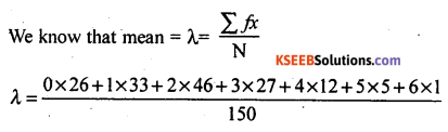 2nd PUC Statistics Model Question Paper 3 with Answers - 57