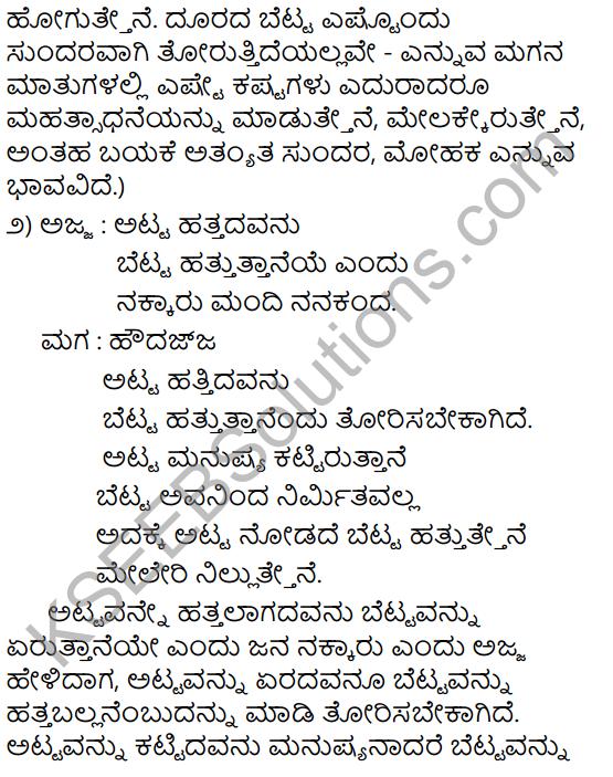 Atta Hatta Beda Summary in Kannada 5