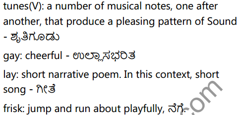 KSEEB Solutions for Class 6 English Poem Chapter 3 Spring 3