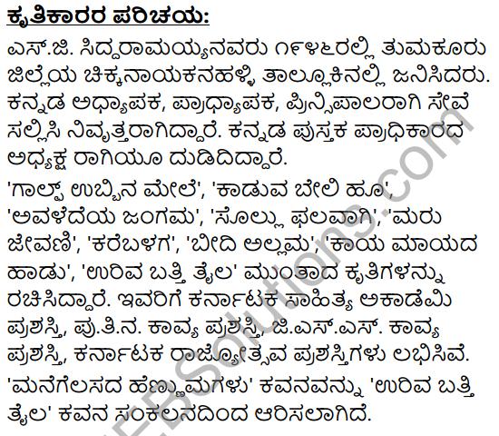 Mannegelasada Hennumagalu Summary in Kannada 2