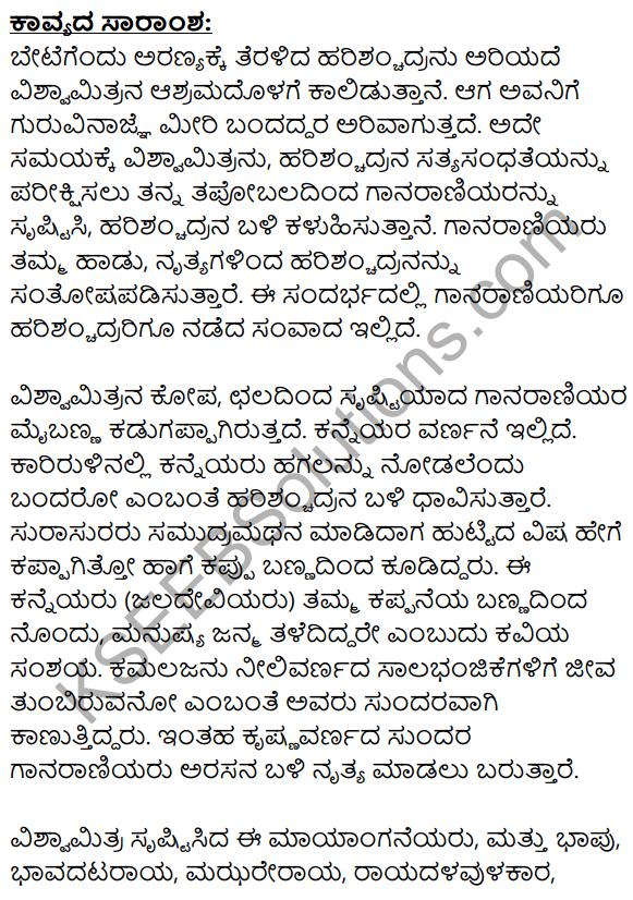 Ninna Muttina Sattigeyannittu Salahu Summary in Kannada 1