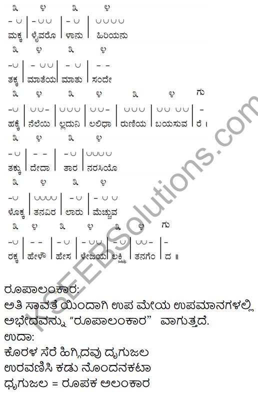 Kouravendrana Konde Neenu Kannada KSEEB Solutions