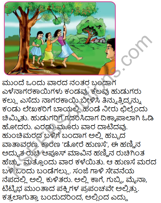Naanu Mattu Hunchimara Summary in Kannada 8