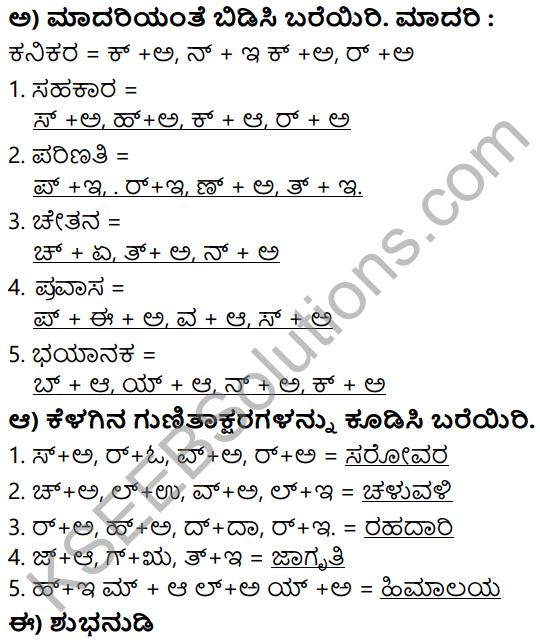 Siri Kannada Text Book Class 5 Solutions Padya Chapter 1 Huttariya Hadu 5