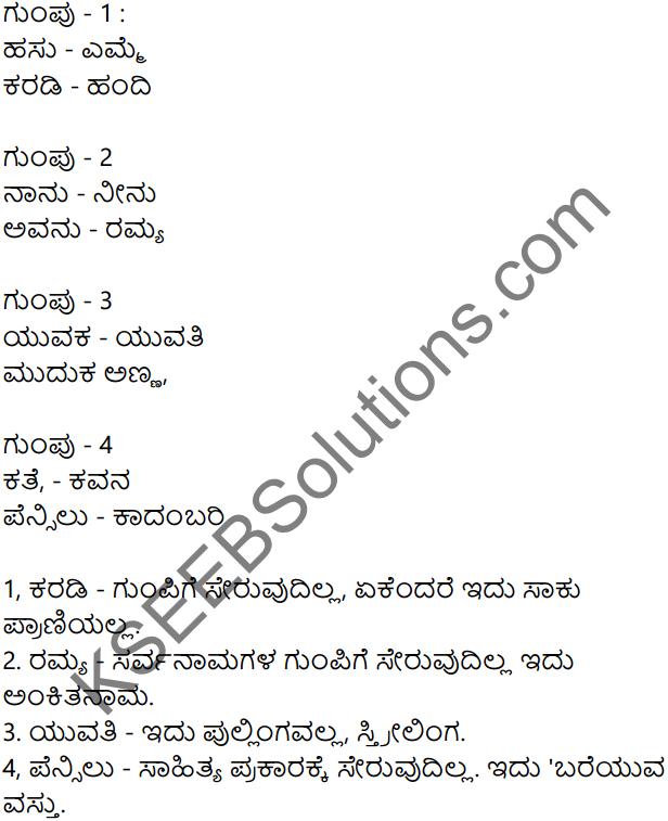 Siri Kannada Text Book Class 7 Solutions Gadya Chapter 1 Puttajji Puttajji Kathe Helu 9