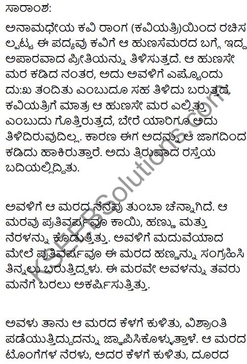 Tamarind Summary In Kannada 1