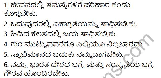 Tili Kannada Text Book Class 5 Solutions Gadya Chapter 6 Dheera Balaka Narendra 10