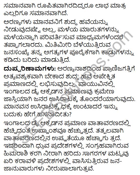 Tili Kannada Text Book Class 9 Solutions Rachana Bhaga Prabandha Rachane 21
