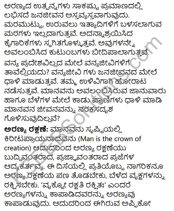 Tili Kannada Text Book Class 9 Solutions Rachana Bhaga Prabandha Rachane 22