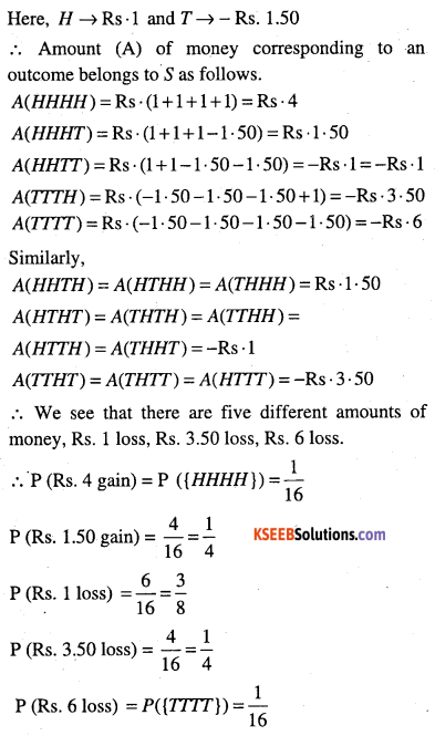 1st PUC Maths Question Bank Chapter 16 Probability 4