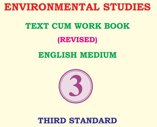 KSEEB Solutions for Class 3 EVS Environmental Studies Karnataka State Syllabus