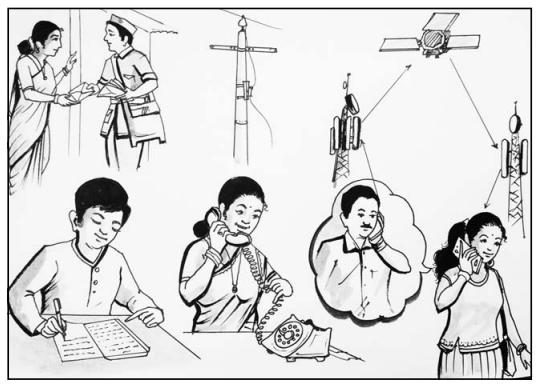 Internet Kranti Hindi Lesson KSEEB Solutions Class 10