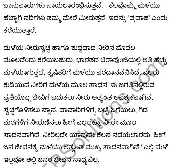 जीवनधात्री-वर्षा Summary in Kannada 2