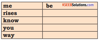 KSEEB Solutions for Class 7 English Poem Chapter 1 The Gymnastic Clock 1