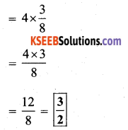 KSEEB Solutions for Class 7 Maths Chapter 2 Fractions and Decimals Ex 2.4 8