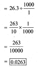 KSEEB Solutions for Class 7 Maths Chapter 2 Fractions and Decimals Ex 2.7 29