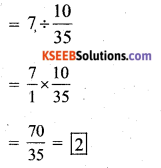 KSEEB Solutions for Class 7 Maths Chapter 2 Fractions and Decimals Ex 2.7 331