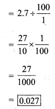 KSEEB Solutions for Class 7 Maths Chapter 2 Fractions and Decimals Ex 2.7 3345