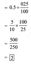 KSEEB Solutions for Class 7 Maths Chapter 2 Fractions and Decimals Ex 2.7 335