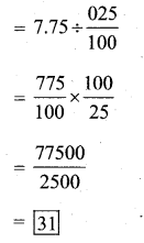 KSEEB Solutions for Class 7 Maths Chapter 2 Fractions and Decimals Ex 2.7 336