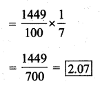 KSEEB Solutions for Class 7 Maths Chapter 2 Fractions and Decimals Ex 2.7 7