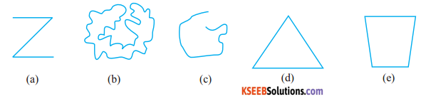 KSEEB Solutions for Class 6 Maths Chapter 4 Basic Geometrical Ideas Ex 4.2 1