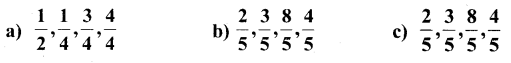 KSEEB Solutions for Class 6 Maths Chapter 7 Fractions Ex 7.2 1