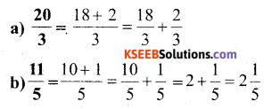 KSEEB Solutions for Class 6 Maths Chapter 7 Fractions Ex 7.2 4
