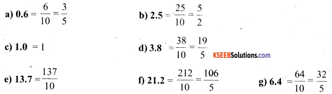 KSEEB Solutions for Class 6 Maths Chapter 8 Decimals Ex 8.1 7
