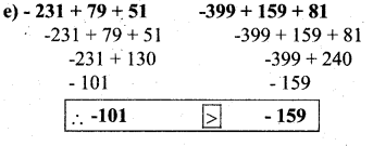 KSEEB Solutions for Class 7 Maths Chapter 1 Integers Ex 1.1 33