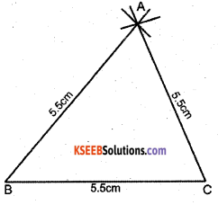 KSEEB Solutions for Class 7 Maths Chapter 10 Practical Geometry Ex 10.2 2