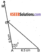 KSEEB Solutions for Class 7 Maths Chapter 10 Practical Geometry Ex 10.3 2