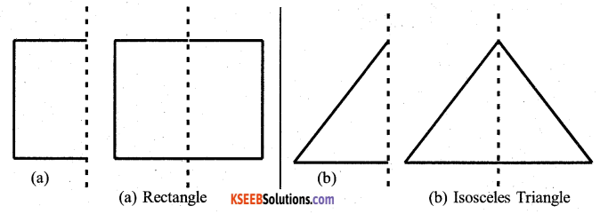 KSEEB Solutions for Class 7 Maths Chapter 14 Symmetry Ex 14.1 10