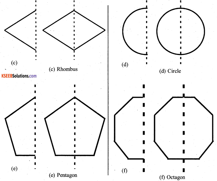 KSEEB Solutions for Class 7 Maths Chapter 14 Symmetry Ex 14.1 11