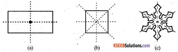 KSEEB Solutions for Class 7 Maths Chapter 14 Symmetry Ex 14.1 12