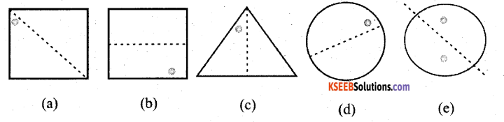 KSEEB Solutions for Class 7 Maths Chapter 14 Symmetry Ex 14.1 8