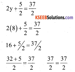 KSEEB Solutions for Class 7 Maths Chapter 4 Simple Equations Ex 4.3 3