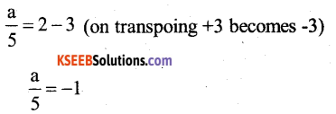 KSEEB Solutions for Class 7 Maths Chapter 4 Simple Equations Ex 4.3 8