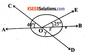 KSEEB Solutions for Class 7 Maths Chapter 5 Lines and Angles Ex 5.1 33