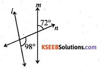 KSEEB Solutions for Class 7 Maths Chapter 5 Lines and Angles Ex 5.2 356