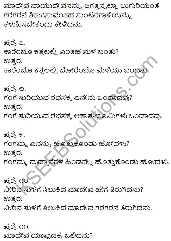 1st Puc Kannada Notes KSEEB Solutions