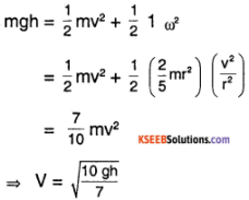 1st PUC Physics Question Bank Chapter 7 System of Particles and Rotational Motion img 21